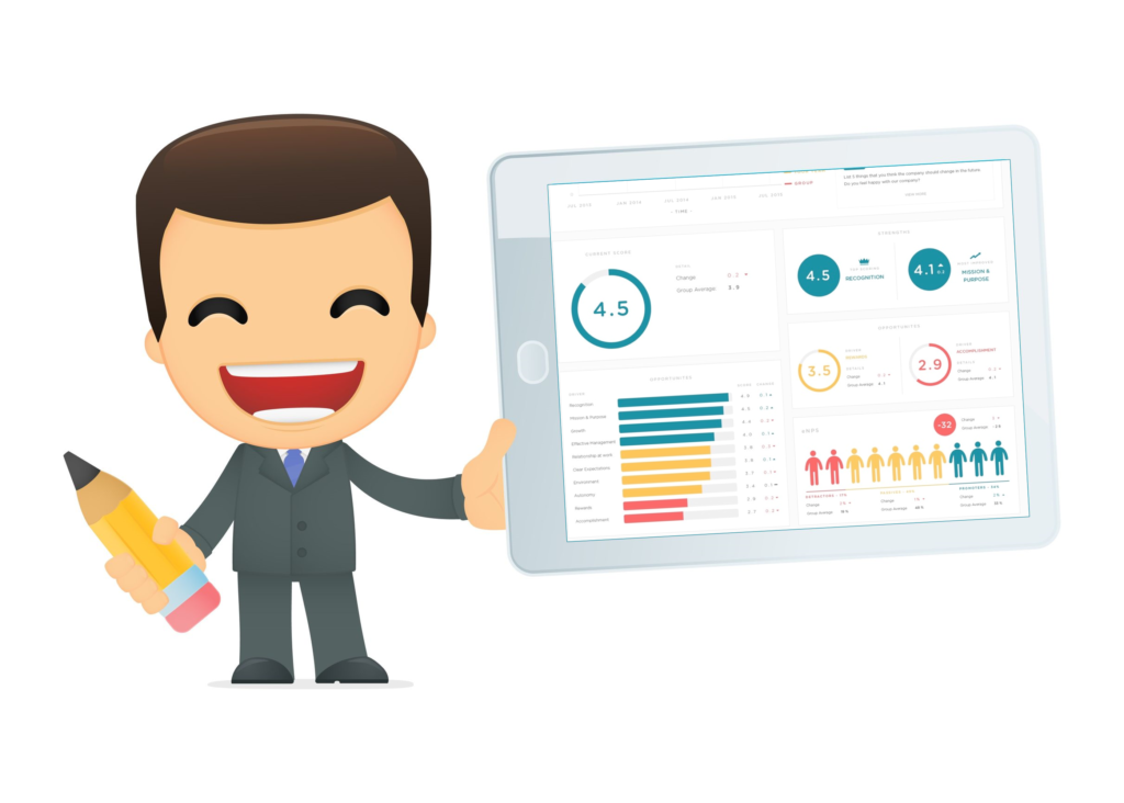 Performance reviews and feedback with powerful, simple and fast survey apps.