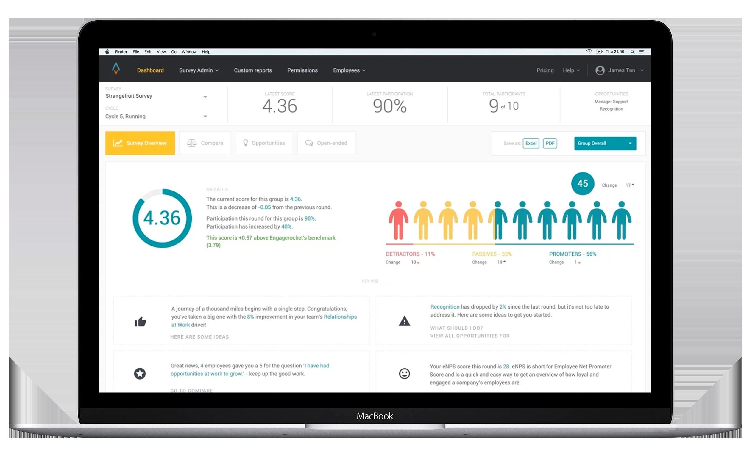 engagerocket engagement platforme