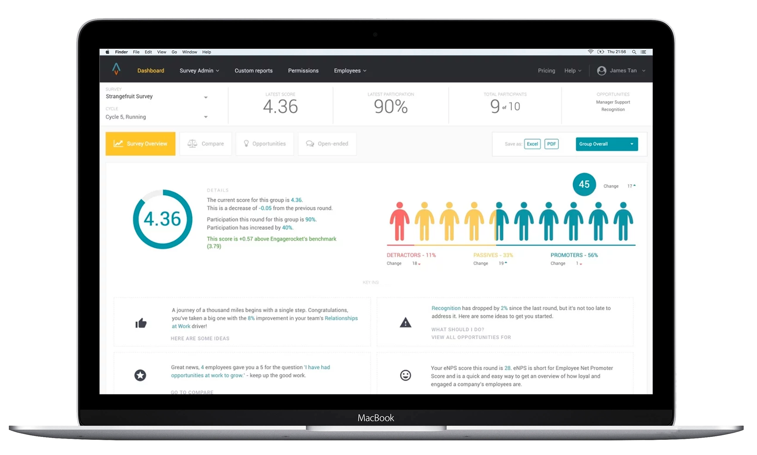 Employee Net Promoter Score (eNPS) and Employee Experience